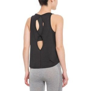 The North Face Women 2 in 1 Bra Tank Top Black NWT